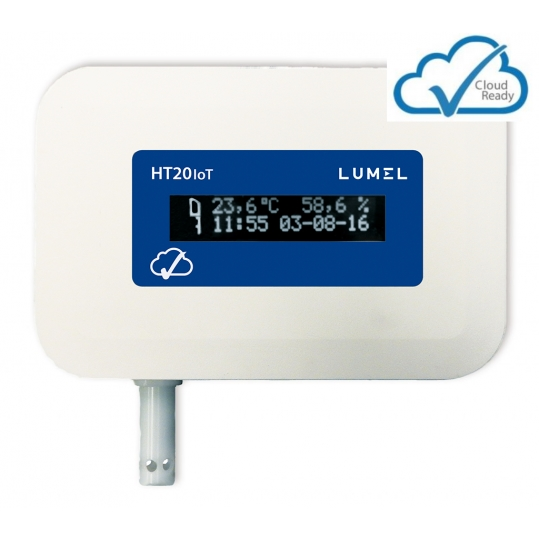 Temperature and humidity monitor for IoT applications - Lumel