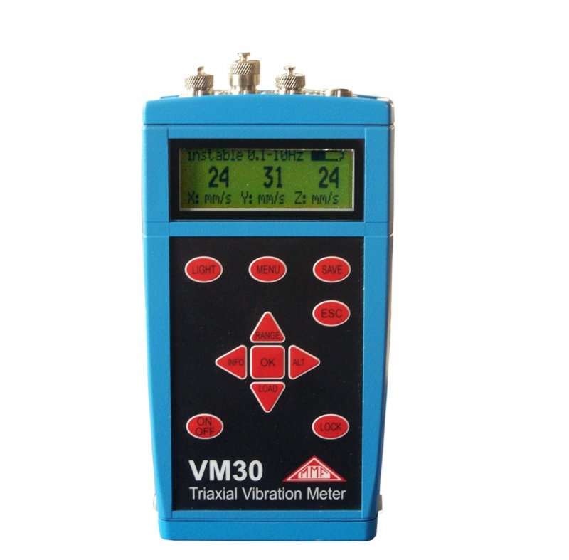 Vibration Meter for Wind Turbines to VDI 3834-1	VM30-W
